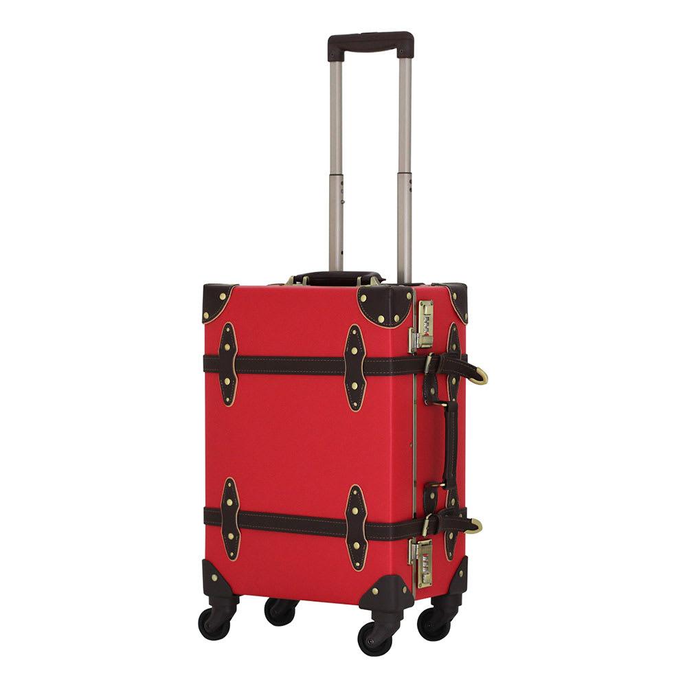 (36L)ユーラシア/トランクケース|キャリーケース・キャリーバッグ ネイビー/ブラウン スーツケース(ハードタイプ)
