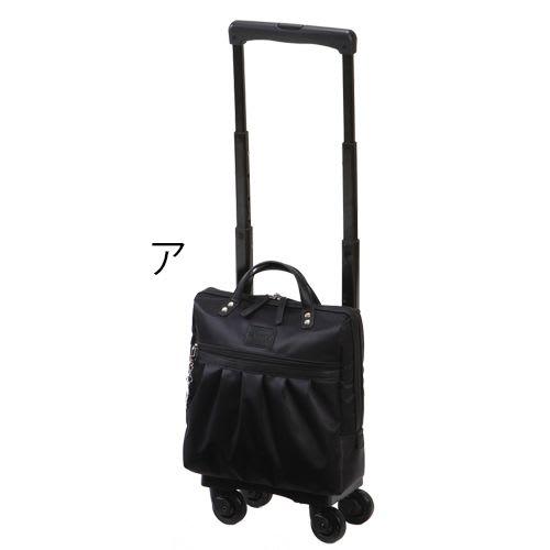 SWANY(スワニー)/支えるバッグ クレーペ 四輪ストッパー付き 約7L 2kg (ア)ブラック