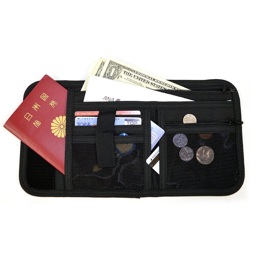地球の歩き方SGパスポートウォレット ブラック/ネイビー/レッド/グレー/ベージュ パスポートケース・セキュリティ関連