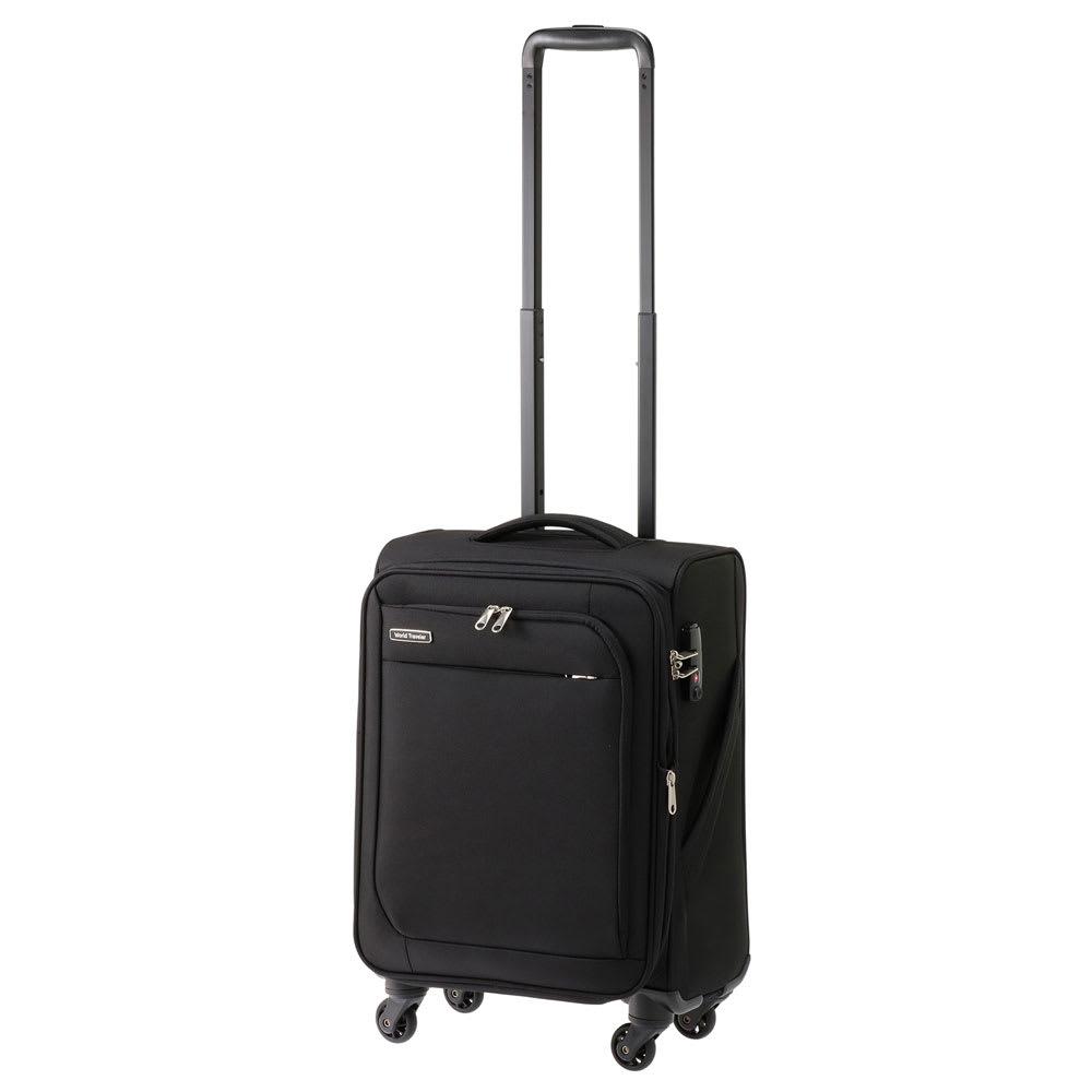 WORLD TRAVELER(ワールドトラベラー)/コーモス 多機能トローリー 35L ブラック01/ネイビー03 スーツケース(ソフトタイプ)