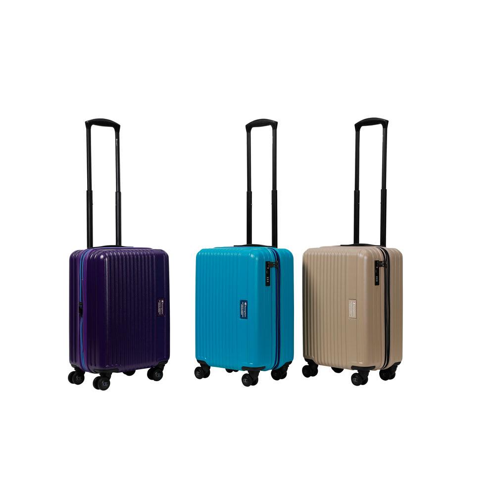 Champion(チャンピオン)/機内持ち込みスーツケース 41L ブラック02/ベージュ05/ホワイト06/パープル07/ターコイズ15 スーツケース(ハードタイプ)