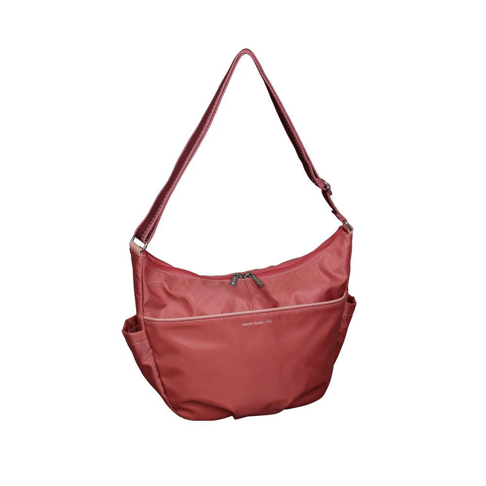 旅行用品 ホビー ペット 旅行カバン シューズ ファッション ショルダーバッグ marie claire bis(マリ・クレール ビス)/ランビュトー 舟型ショルダー NV5510