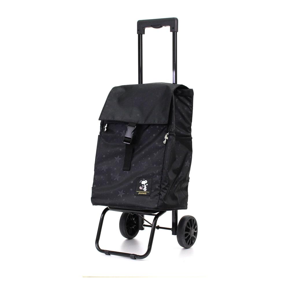 シフレ/保冷フック付き ショッピングカート 25L スターブラック スーツケース(ソフトタイプ)