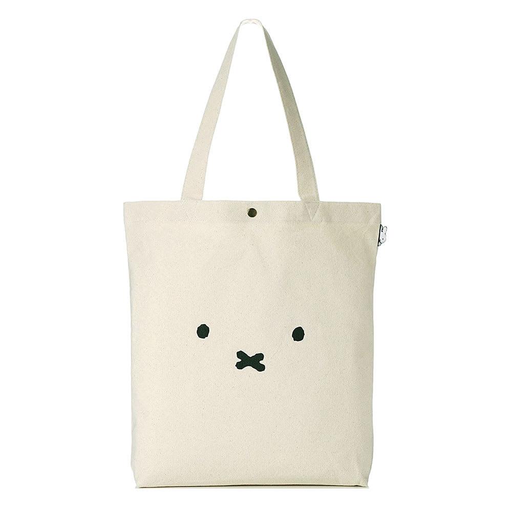 シフレ/ミッフィー トートバッグ ナキガオフェイス キャラクターグッズキャラクター