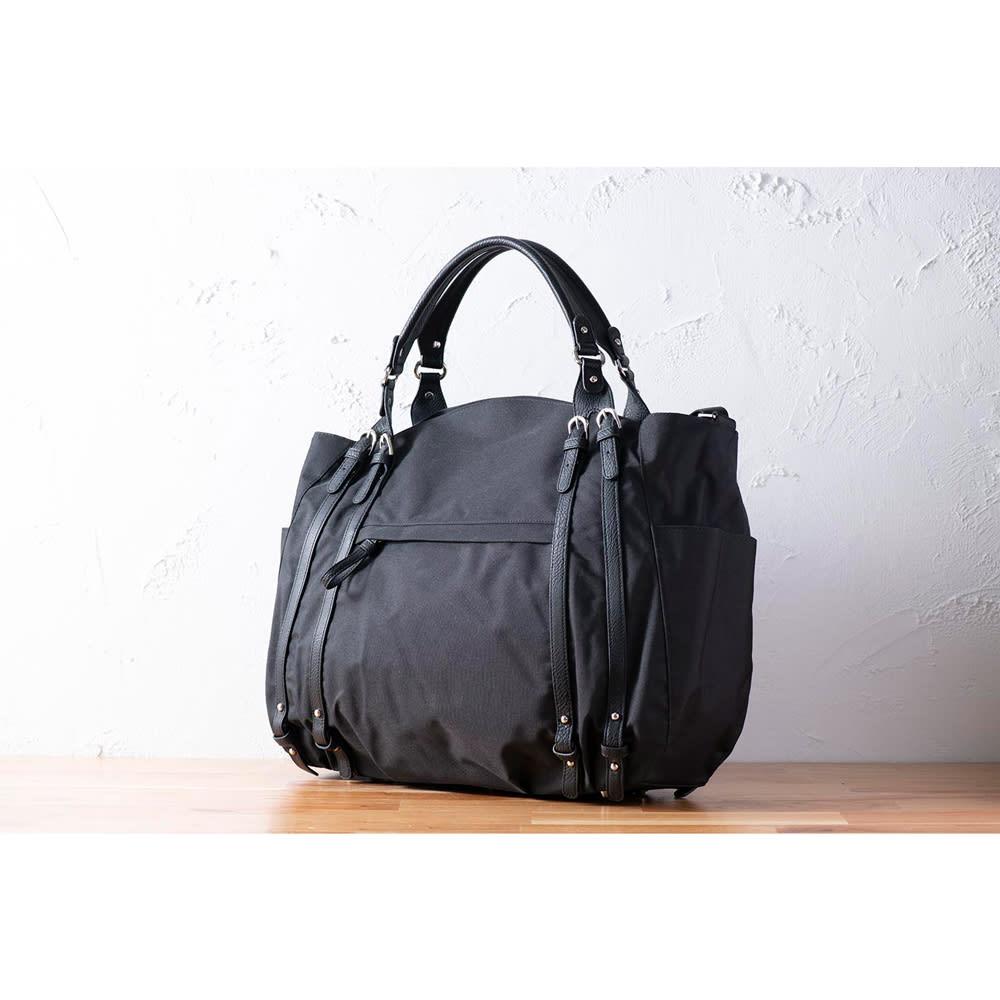 BASARA TYO/タクト ボストンバッグ (ア)ブラック
