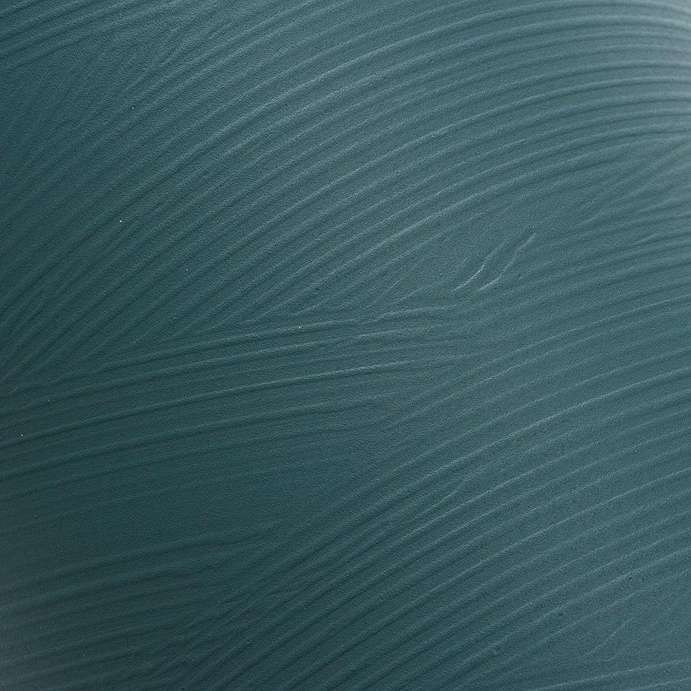 橋本達之助工芸/塗り職人が描くさざ波模様 ダストボックス|ゴミ箱 ウ:波模様アップ