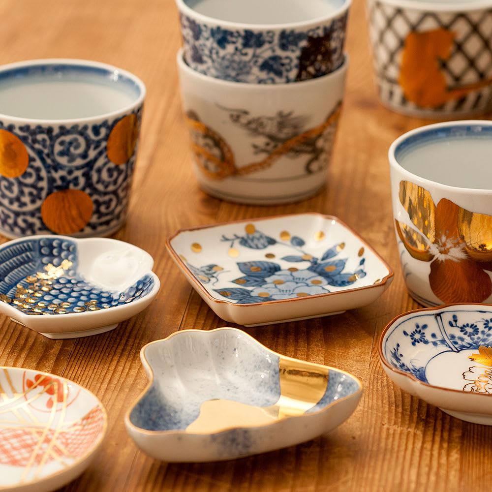 amabro(アマブロ)/MAME 有田焼豆皿1枚 同シリーズの有田焼そば猪口(商品番号:N520-55)は【関連商品】からご覧いただけます