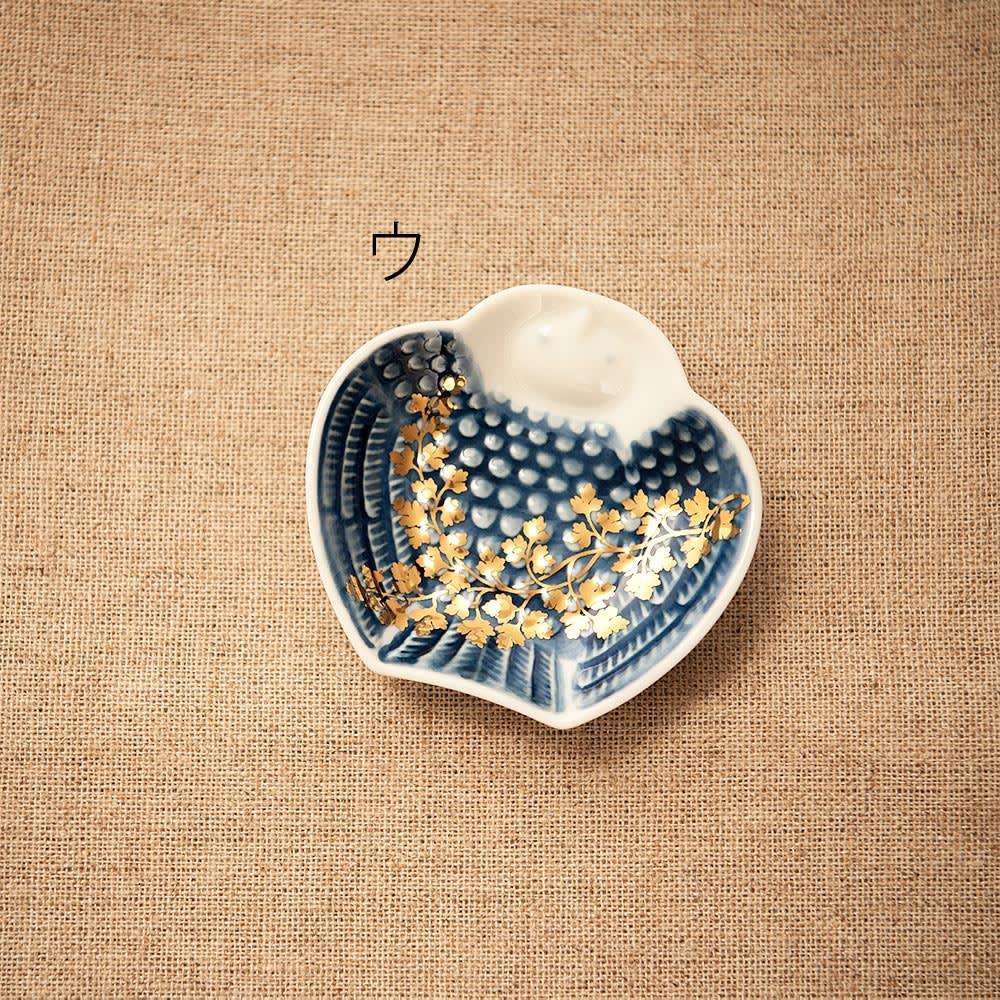 amabro(アマブロ)/MAME 有田焼豆皿1枚 ウ:脹雀形皿