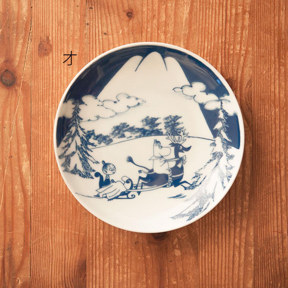 amabro(アマブロ)/MOOMIN×amabro SOMETSUKE 有田焼丸皿1枚