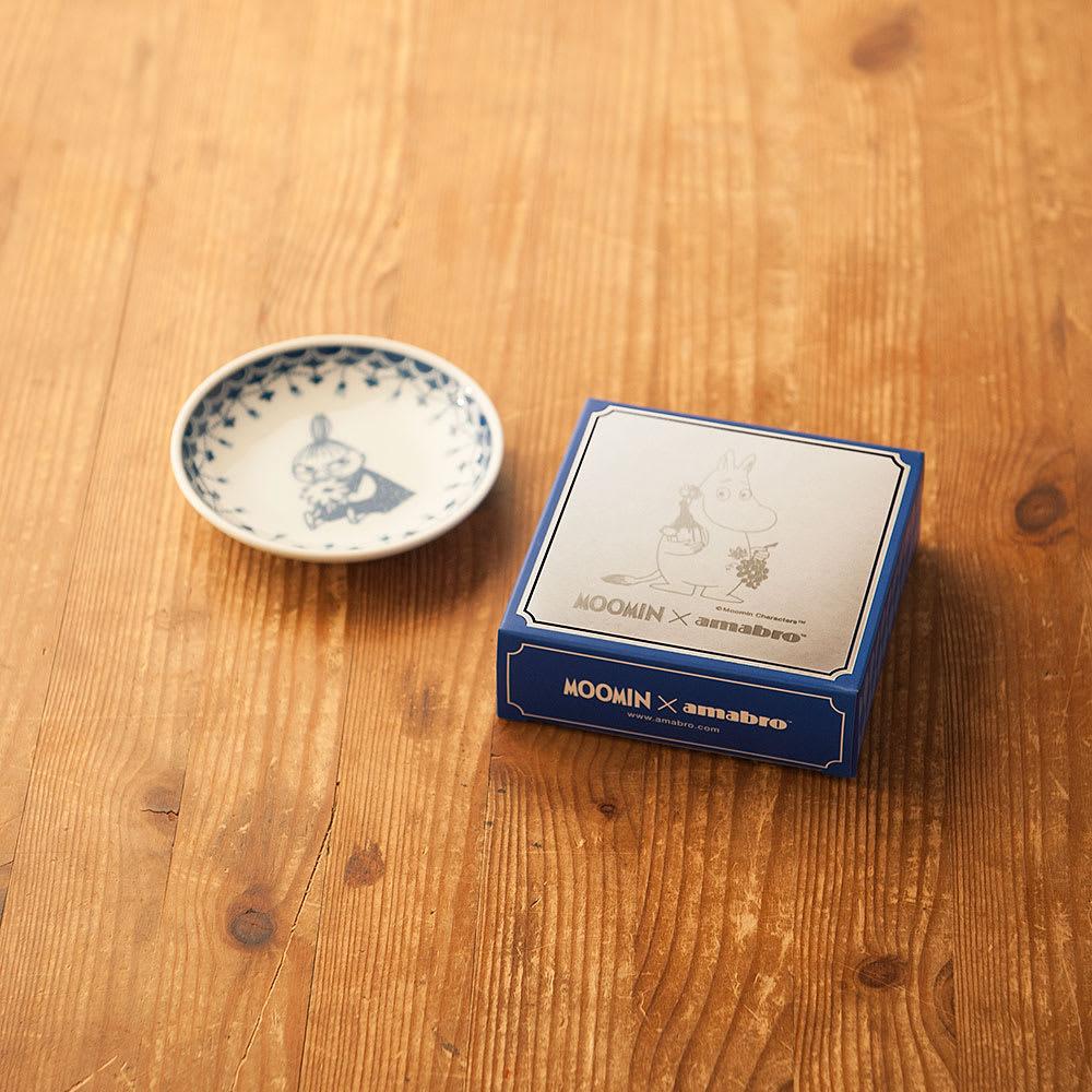amabro(アマブロ)/MOOMIN×amabro SOMETSUKE 有田焼手塩皿5枚セット BOX付き ギフトに嬉しいデザインパッケージ付き