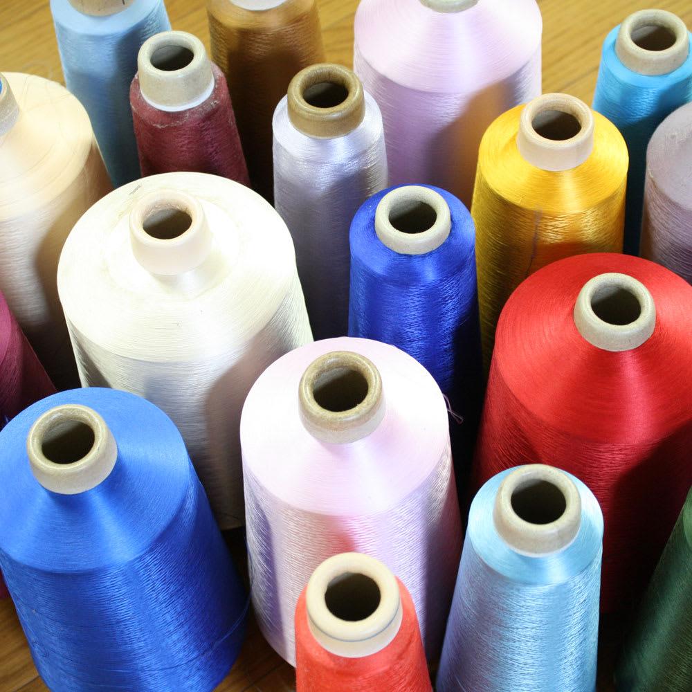 創業1866年槙田商店/傘生地を使ったポータブルバッグ(エコバッグ) ジャカード織 スクエアドット柄 多彩な糸をストックしています