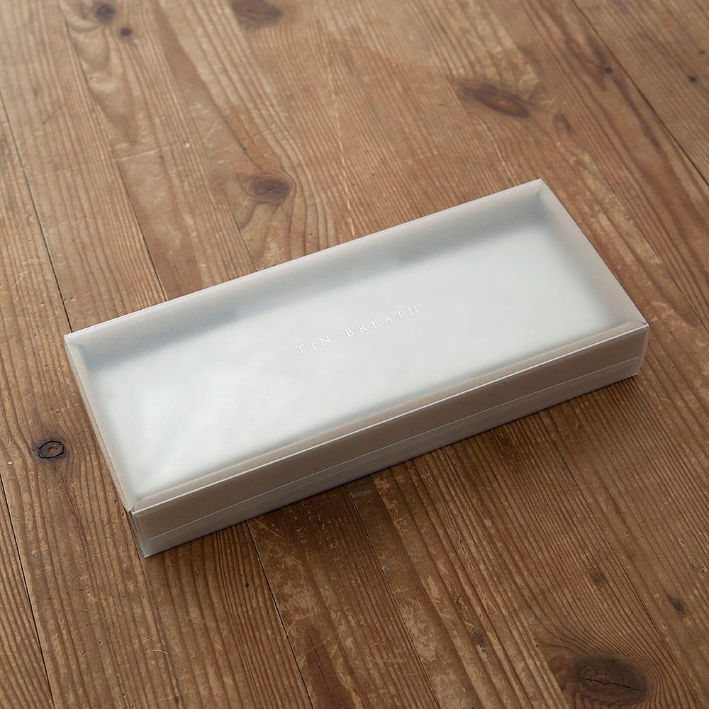NAGAE+(ナガエプリュス)/幅10~60mm TIN BREATH ティンブレス ブレスレット パッケージ付き まっすぐなカタチでお届けします