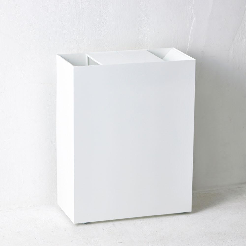 FRAMES&SONS(フレームズアンドサンズ)/SLANT ダストボックス45L(2分別対応可) ゴミ箱としての存在を感じないほどシンプルなつくり