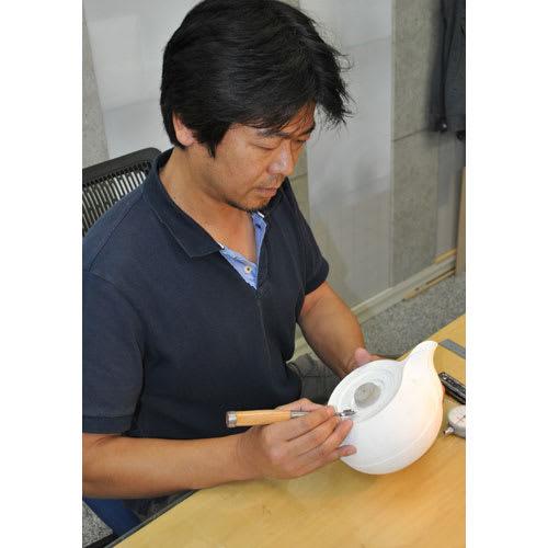壱鋳堂/南部鉄器 Hakeme 刷毛目 0.6L|小鉄瓶 急須 デザイナーの中村義隆氏