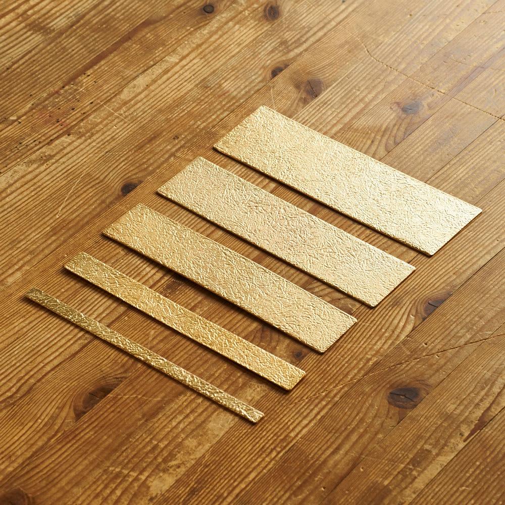 NAGAE+(ナガエプリュス)/TIN BREATH ティンブレス ブレスレット ゴールド色 長さは共通。お好みの幅をお選びください