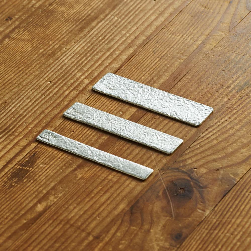 NAGAE+(ナガエプリュス)/TIN BREATH Ring ティンブレスリング シルバー色 長さは共通。お好みの幅をお選びください