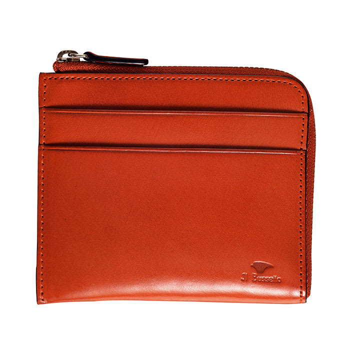 イル・ブッセット 11-070 L字型財布 (エ)オレンジ