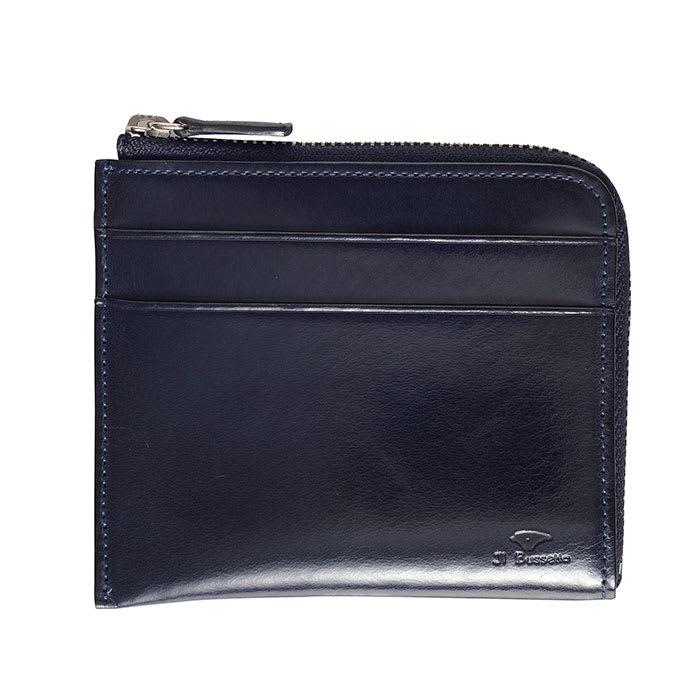 イル・ブッセット 11-070 L字型財布 (ケ)ネイビー