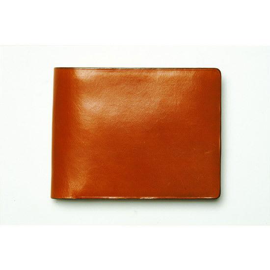 イル・ブッセット 11-007 二つ折(小銭) (ウ)ブラウン