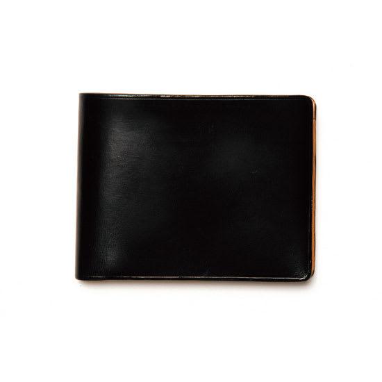 イル・ブッセット 11-007 二つ折(小銭) (エ)ブラック