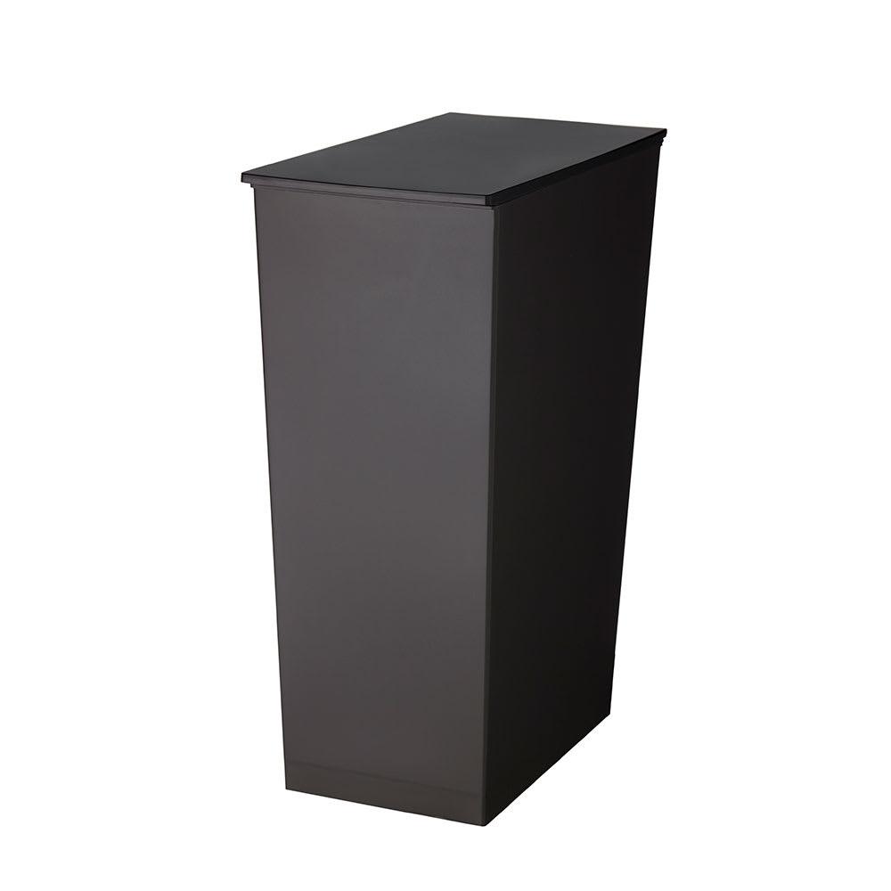 シンプル スリムダストボックス[kcud/クード] (ウ)ブラック