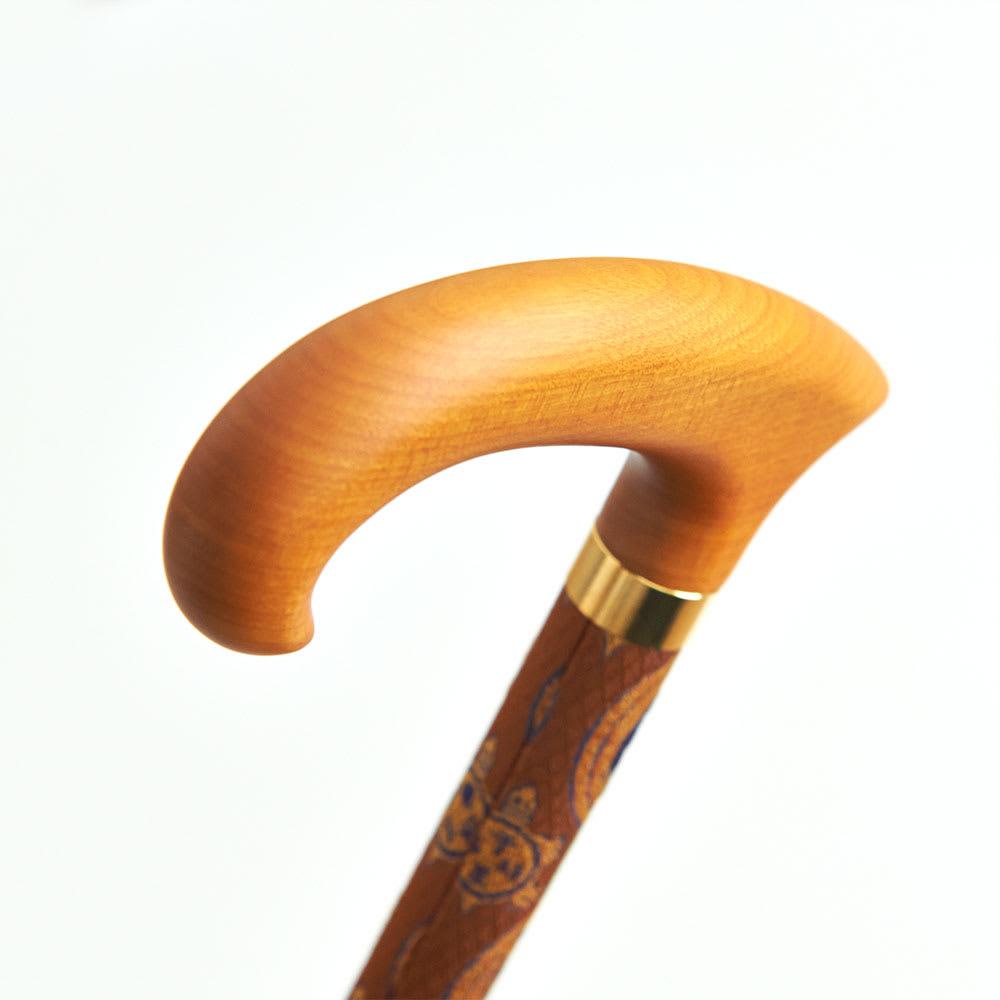 龍村美術織物×宮崎木材工業ステッキ サイズオーダー