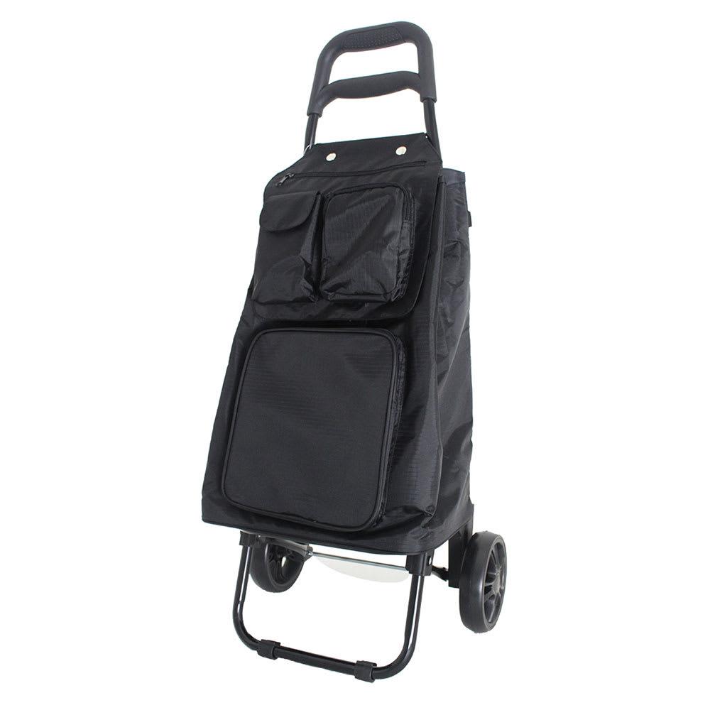 ハピタス保冷フック付きショッピングカート (ア)ブラック