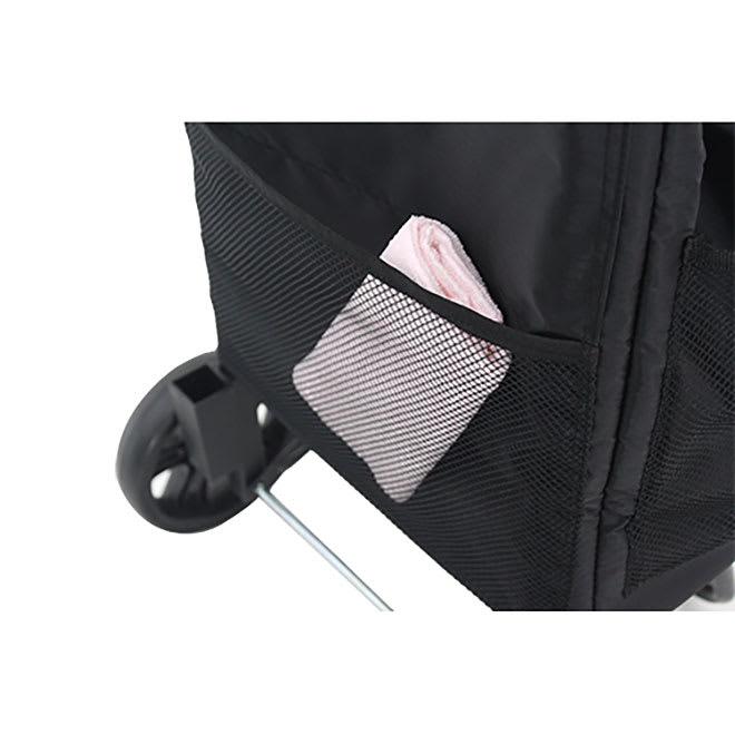 ハピタス保冷フック付きショッピングカート メッシュポケット