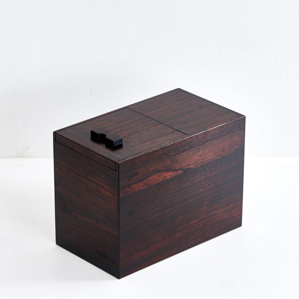 岩谷堂/米びつ(漆仕上げ・木地仕上げ ) 漆仕上げ5kg