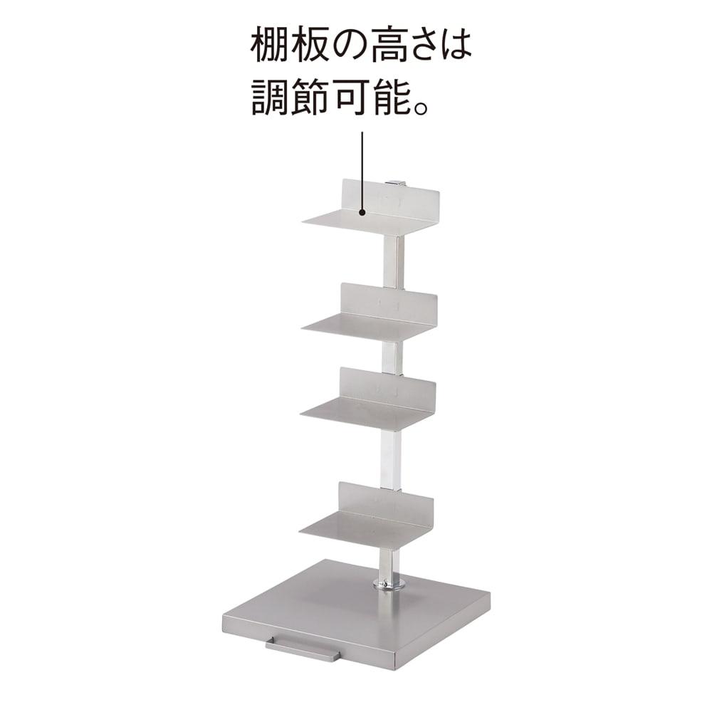 FRAMES&SONS(フレームズアンドサンズ)/キャスター付きブックタワー|本棚 ブックシェルフ 高さ67.5cm