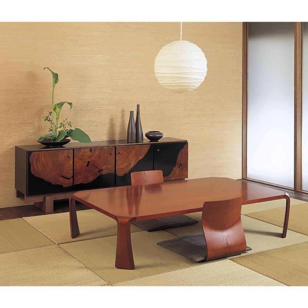 天童木工/ザイス 成形合板座椅子4脚(S-5046)|デザイナーズ家具