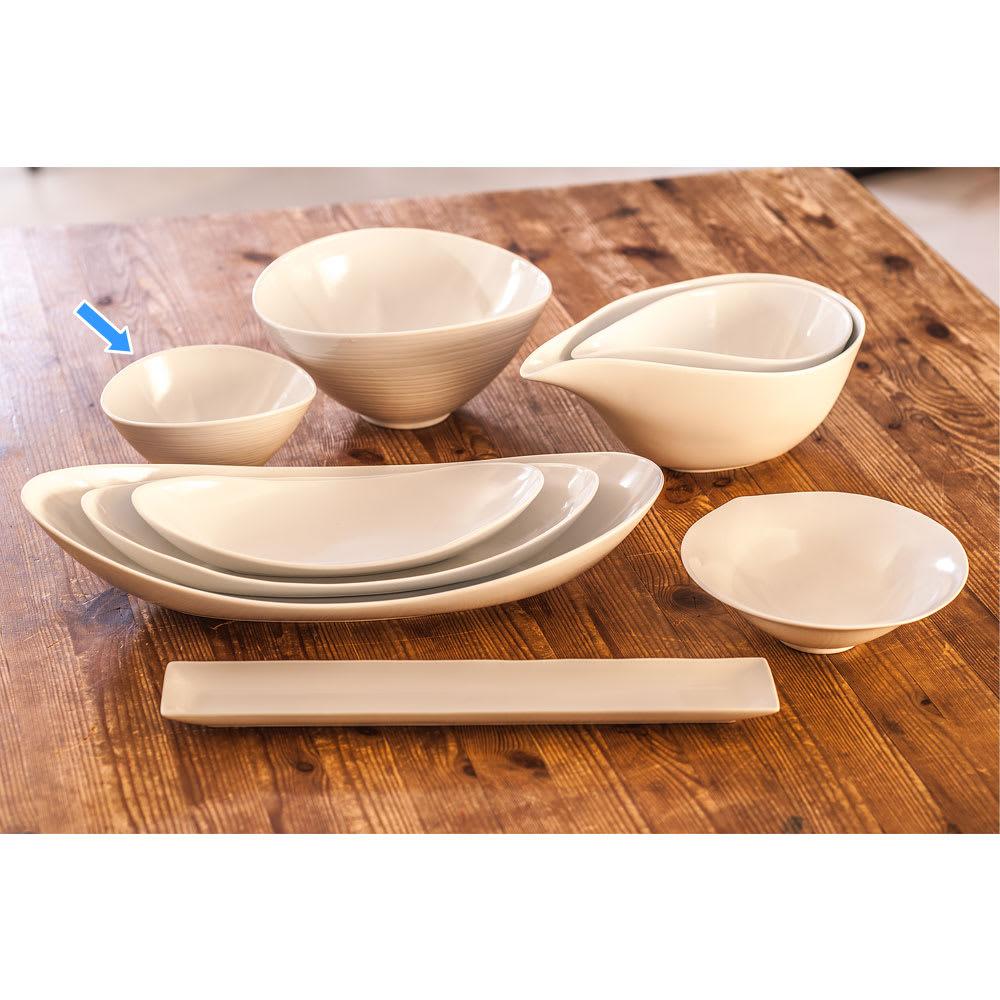 ARITA PORCELAIN LAB(アリタ・ポーセリン・ラボ)/なぶり鉢(小)hakuji/白磁|有田焼 取扱い中の白磁器の全ラインナップ