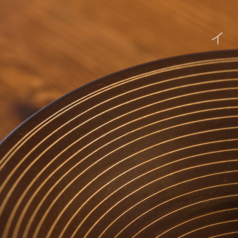 ARITA PORCELAIN LAB(アリタ・ポーセリン・ラボ)/多用鉢 sabi/錆|有田焼 イ:錆千段 有田焼の伝統技法である「掻き落とし」の手法によって錆釉を引っ掻き削り取ることで作りだされた器
