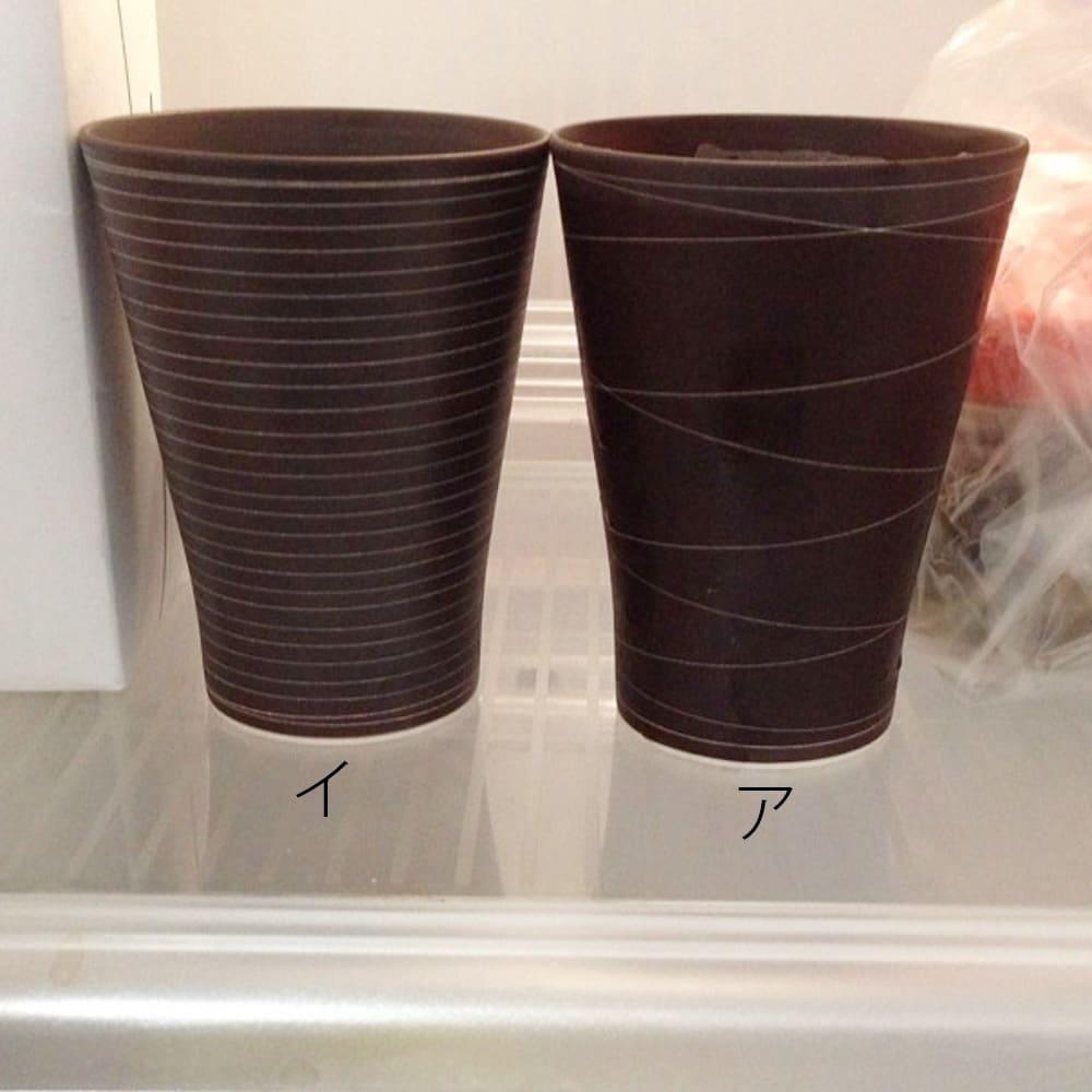 ARITA PORCELAIN LAB(アリタ・ポーセリン・ラボ)/泡立ちフリーカップ(タンブラー)sabi/錆|有田焼 冷蔵庫でフリーカップを冷やしてから、注ぐビールは格別