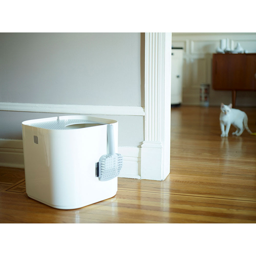 Modkat(モデキャット)/リターボックス 猫のトイレ (ア)ホワイト