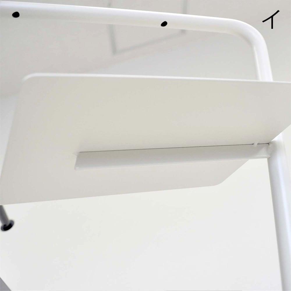 FRAMES&SONS(フレームズアンドサンズ)/StackRack シューズラック7段 棚板裏面は強度を高めるための補強バーがついています