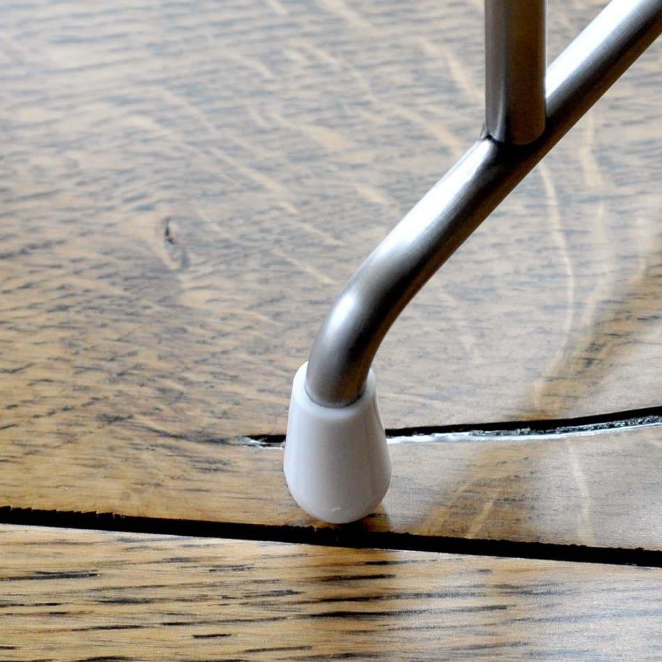 FRAMES&SONS(フレームズアンドサンズ)/Nami 大判対応 波型バスタオルハンガー4枚用 ・幅86cm 接地面には滑り止めのゴムキャップを使用。