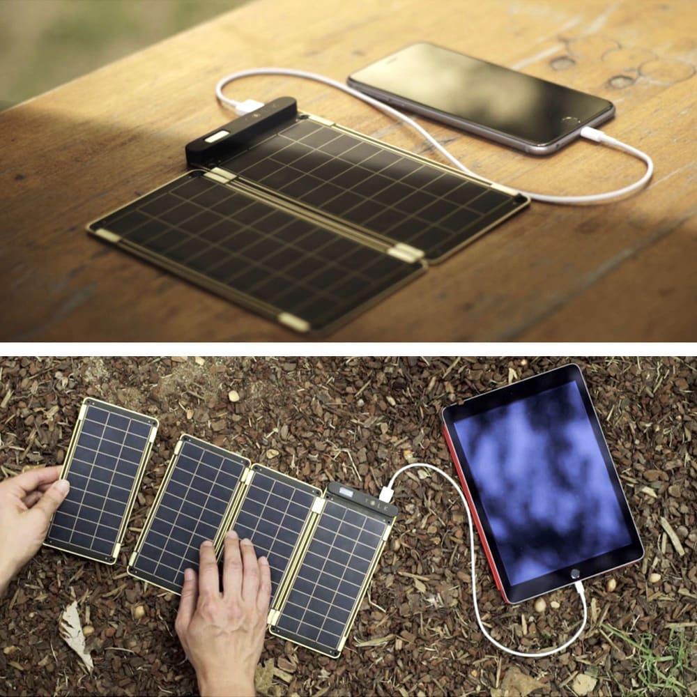 (7.5W)ソーラー充電器ソーラーペーパー 太陽光発電