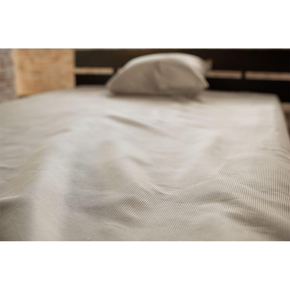 ベッド 寝具 布団 布団カバー シーツ類 ベッドシーツ ボックスシーツ Fab the Home(ファブザホーム)/ハニカム ボックスシーツD NV3903