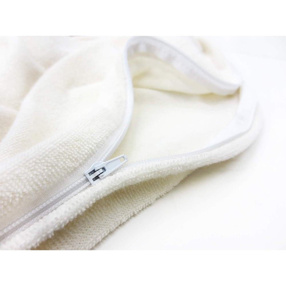 エアリーパイル 掛け布団カバー (エ)ミルク