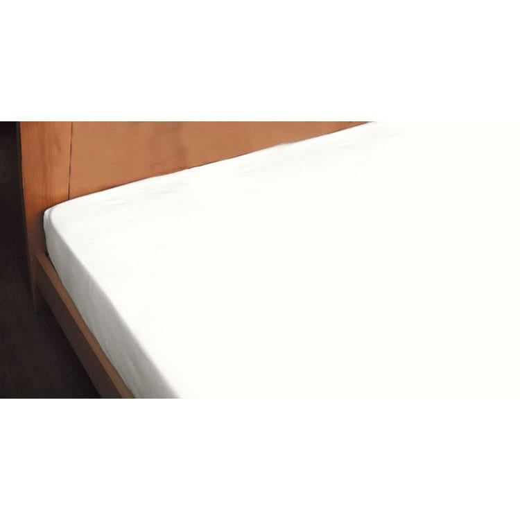 Fab the Home(ファブザホーム)/ソリッド ボックスシーツ (ア)ホワイト