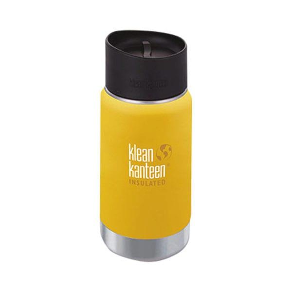 klean kanteen(クリーン・カンティーン)/ワイドインスレートCafe12oz (ウ)イエロー
