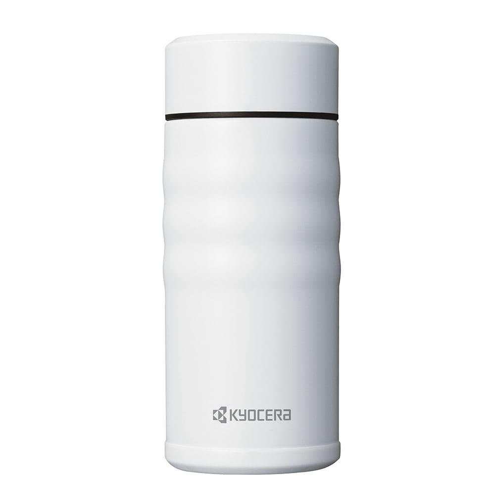 KUYOCERA(京セラ)/セラブリッドマグボトル350ml スクリュー (ウ)ホワイト