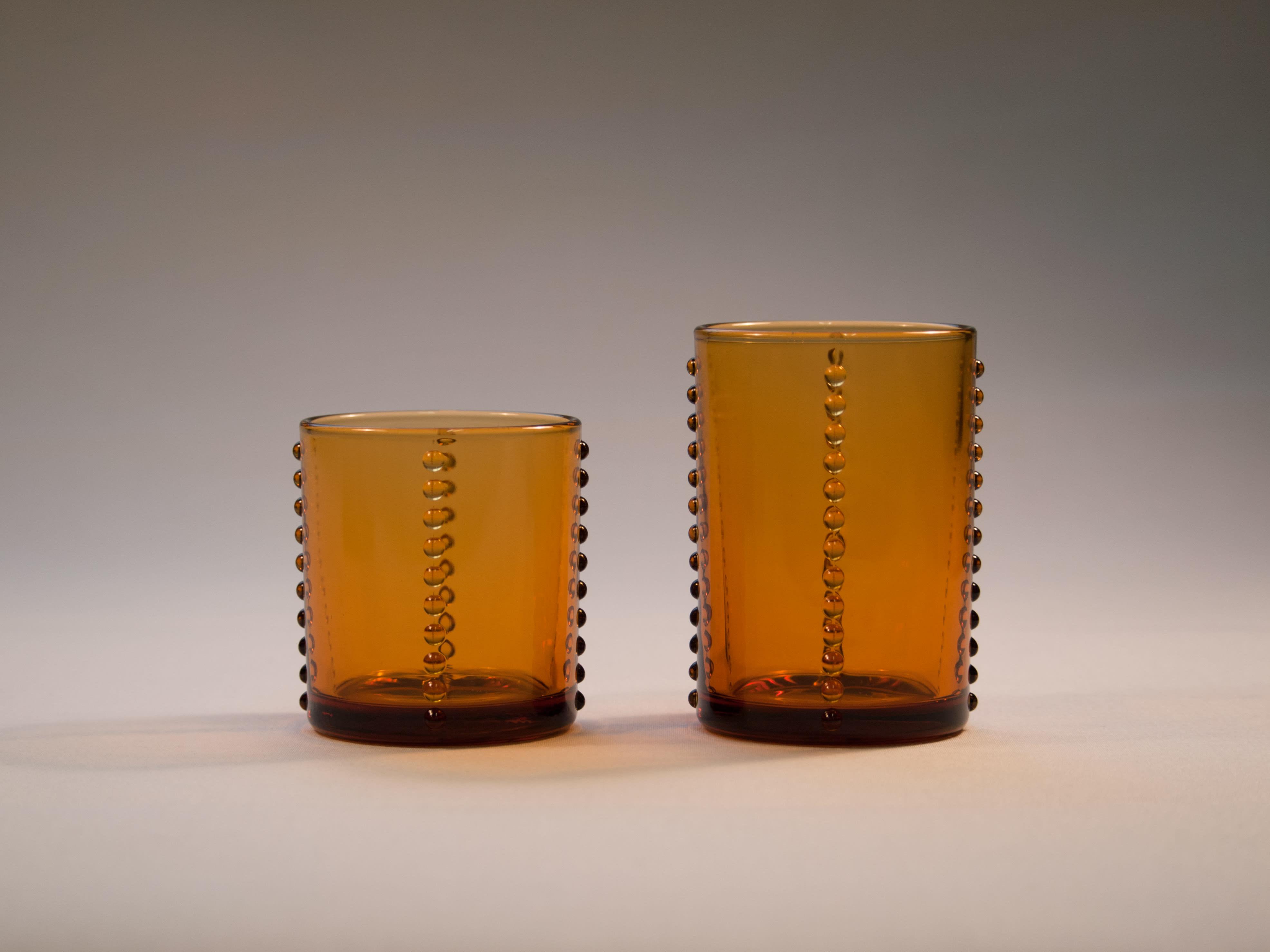 廣田硝子(ヒロタガラス)/YグラスS 比較イメージ ※右側:NV4603