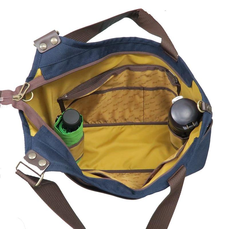 BusyBeaver(ビジィ・ビーバー)/トートバッグ ケンダル ボトルホルダーがついています