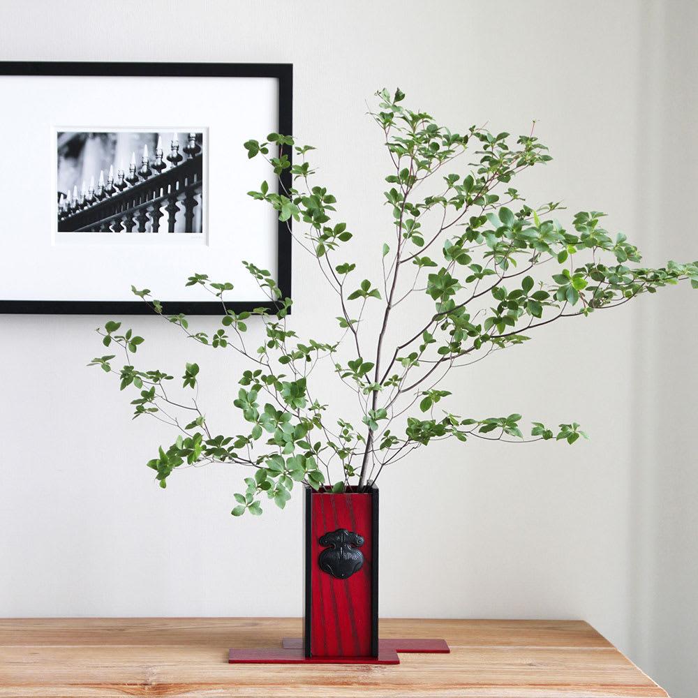 岩谷堂くらしな/花瓶A-巾着|フラワーベース 花器 使用イメージ