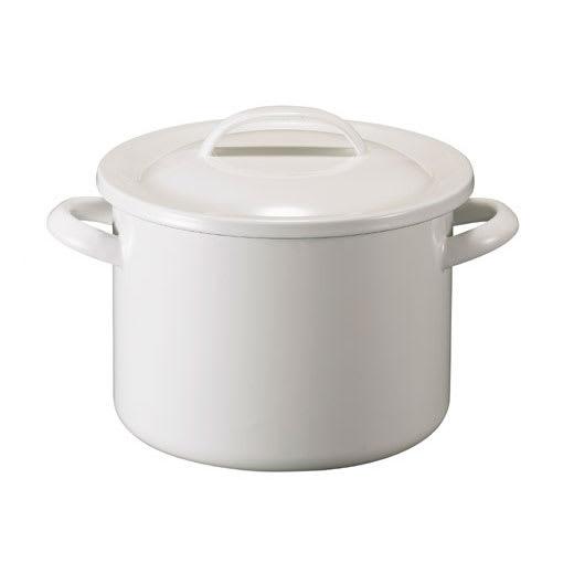 キッチン 家電 鍋 調理器具 土鍋 月兎印/ホーロー両手鍋シチューポット 21cm NV1067