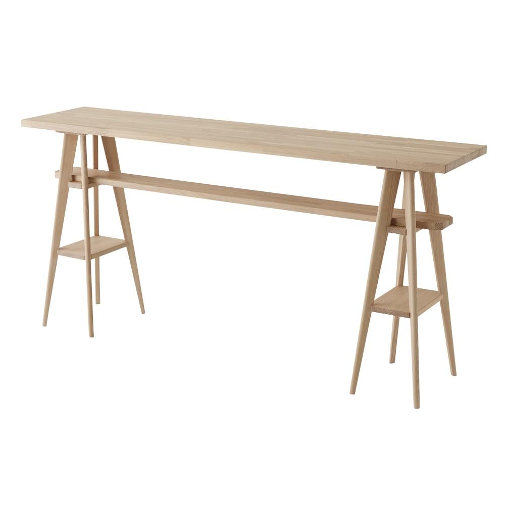 国産タモ天然木オーダーカウンタテーブル 幅200cm 大型のカウンターテーブル(写真のカウンターは幅210cmです)