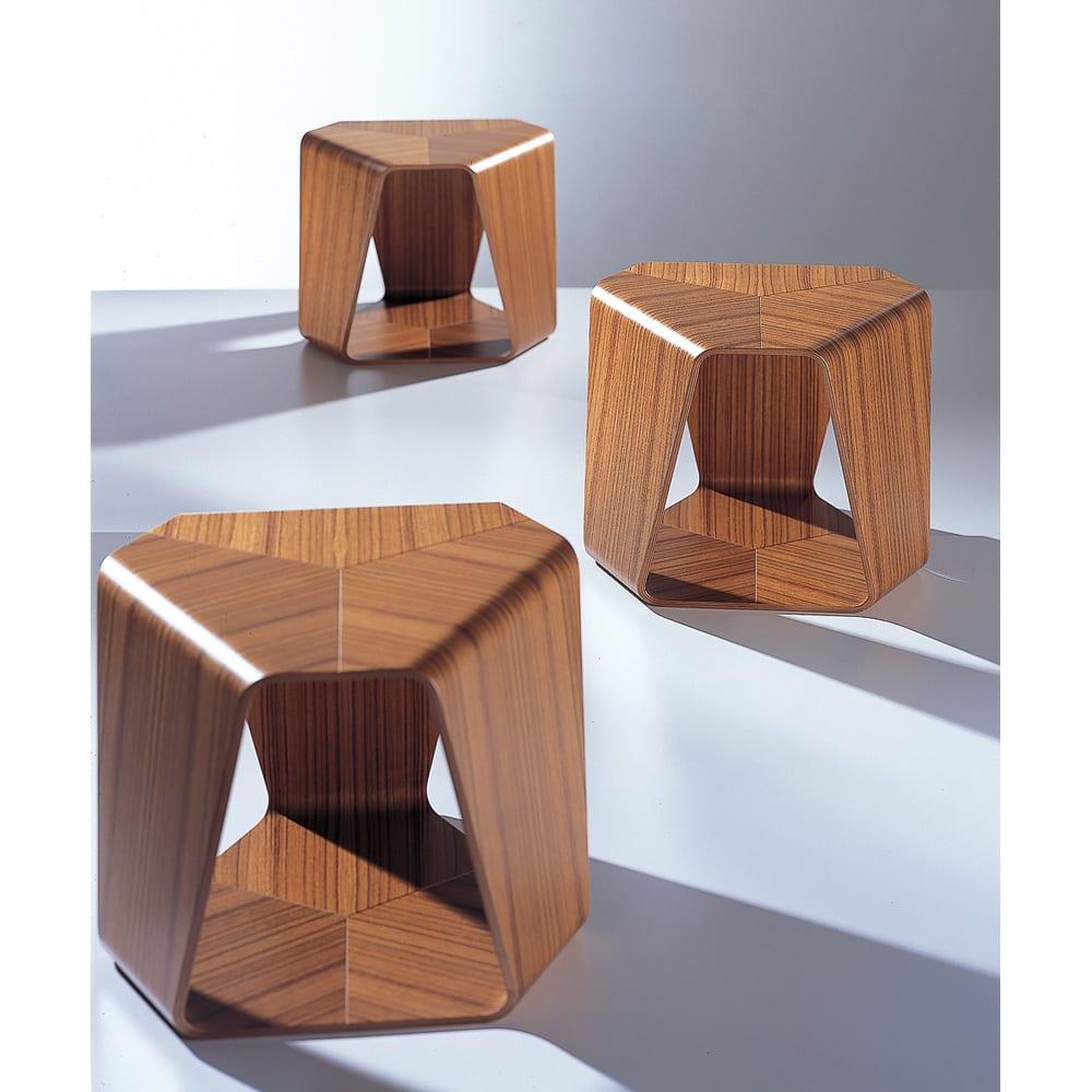 天童木工/ムライ スツール デザイン:田辺 麗子|デザイナーズ家具