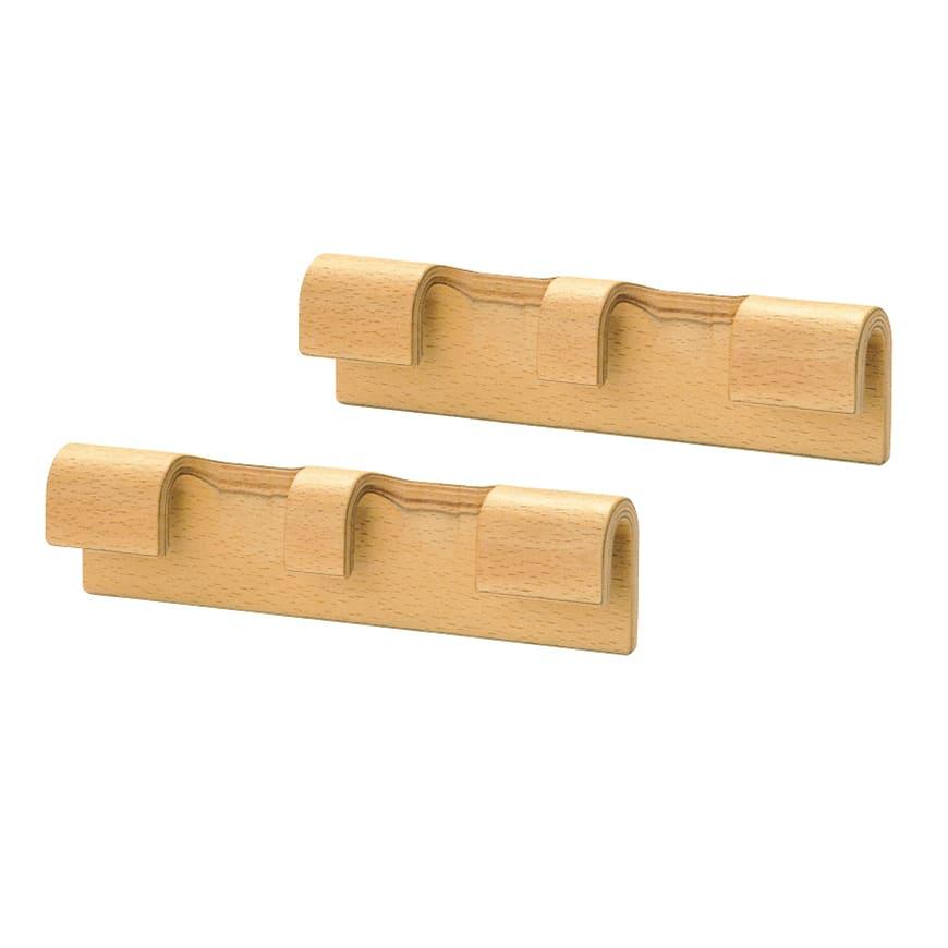 天童木工/Mシリーズコネクター2個セット M-0001WB-NT ブルーノ・マットソン|デザイナーズ家具